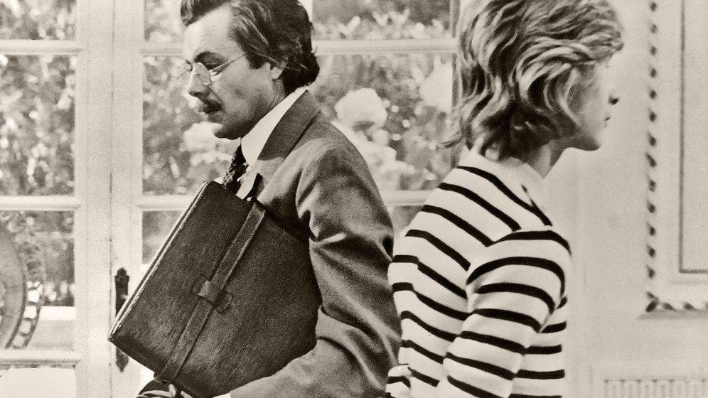Foto: Dirk Bogarde (Aschenbach) y Björk Andersen (Tadzio), en 'Muerte en Venecia', de Luchino Visconti, 1971.