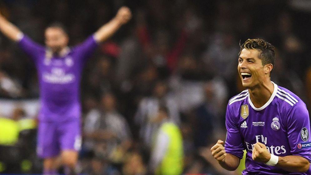 Foto: Cristiano Ronaldo celebrando una nueva Copa de Europa. (EFE)