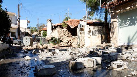 Un muerto por el terremoto en Creta