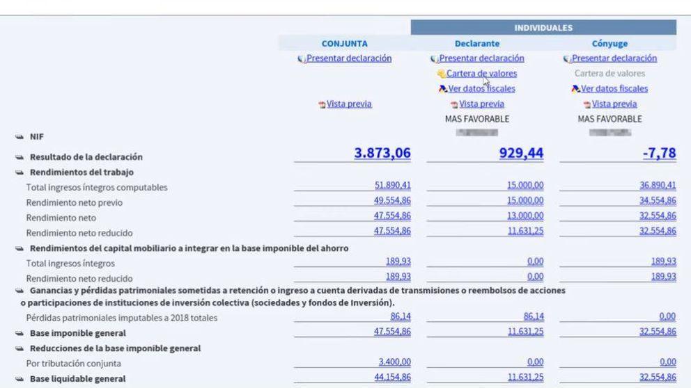 Renta 2018-2019: Así se tramita el borrador desde el portal web de la Agencia Tributaria