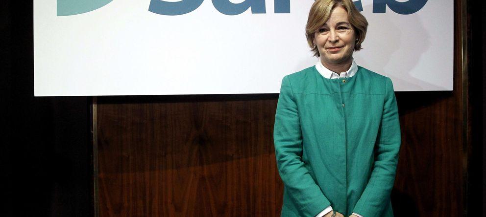 Foto:  La presidenta de la Sociedad de Gestión de Activos Procedentes de la Reestructuración Bancaria (Sareb), Belén Romana (Efe)