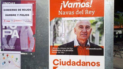 'Gobierno de rojos: hambre y piojos': la guerra de los carteles en Navas del Rey