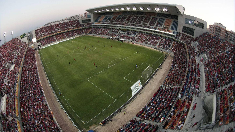 El estadio Ramón de Carranza, en Cádiz (EFE)