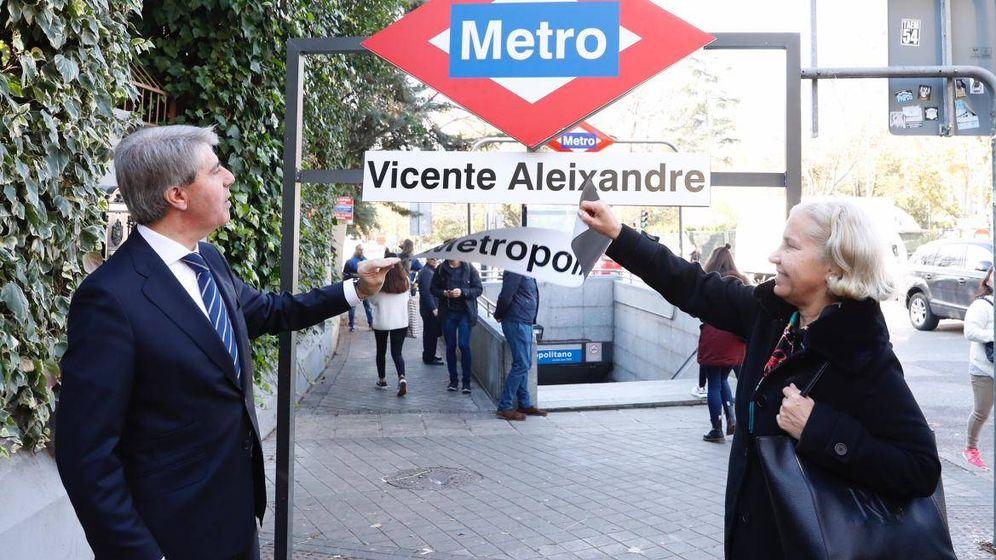 Foto: Metro Vicente Aleixandre. (Comunidad de Madrid)