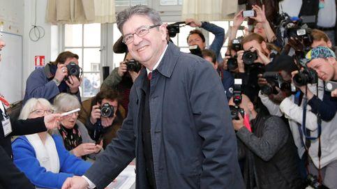 Todas las imágenes de la primera vuelta de las elecciones en Francia