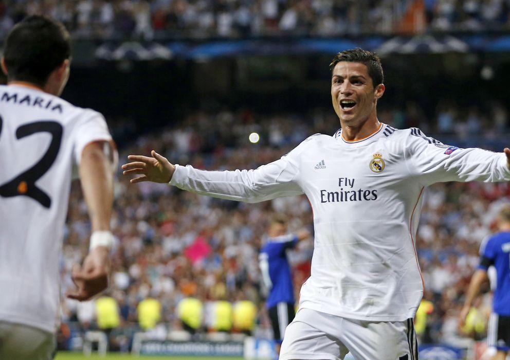 Foto: Cristiano Ronaldo y Di María, durante un partido de la pasada temporada