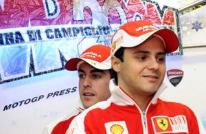 Foto: La cara de Ferrari también tiene su cruz