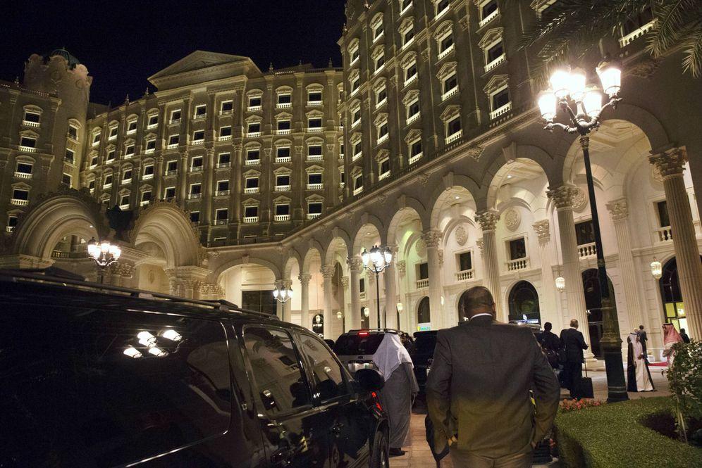 Foto: Entrada del Hotel Ritz-Carlton de Riad, capital de Arabia Saudí. (Reuters)