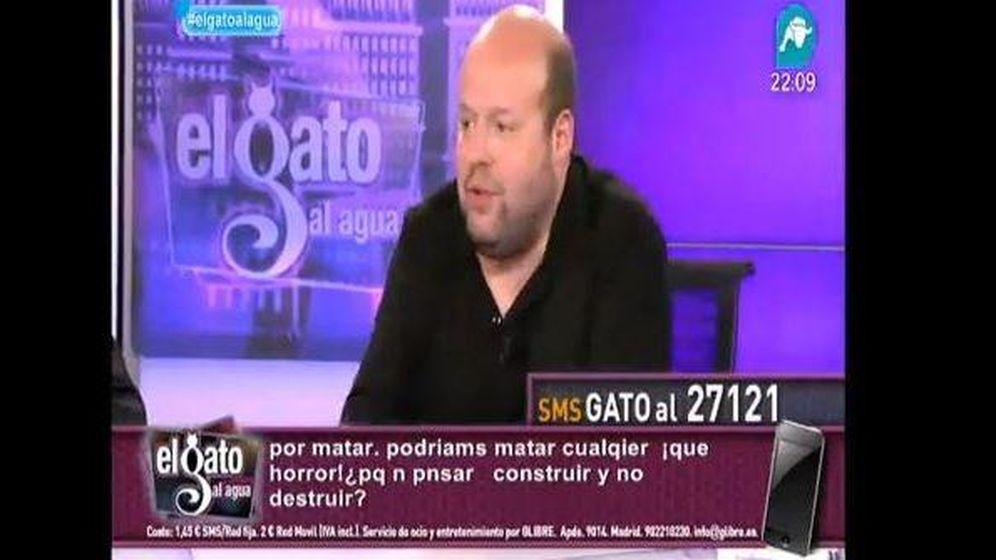 Foto: El periodista Salvador Sostres. (YouTube)