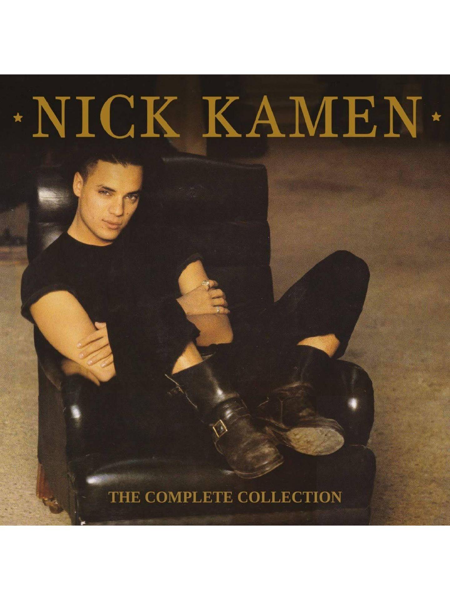Portada de un recopilatorio musical de Nick Kamen. (Warner Bros. Records y WEA)