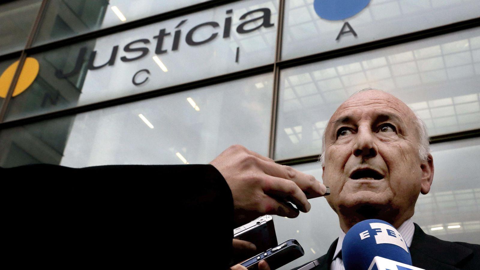 Foto: El expresidente de la Autoridad Portuaria de Valencia Rafael Aznar. (EFE)
