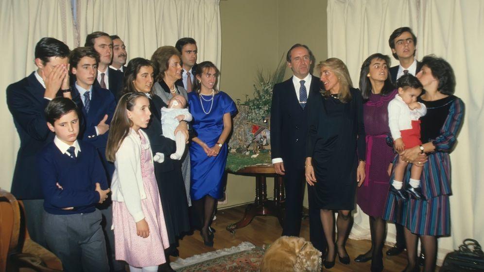 Foto: La familia del empresario José María Ruiz Mateos en la década de los 80, en una imagen de archivo (Gtres)