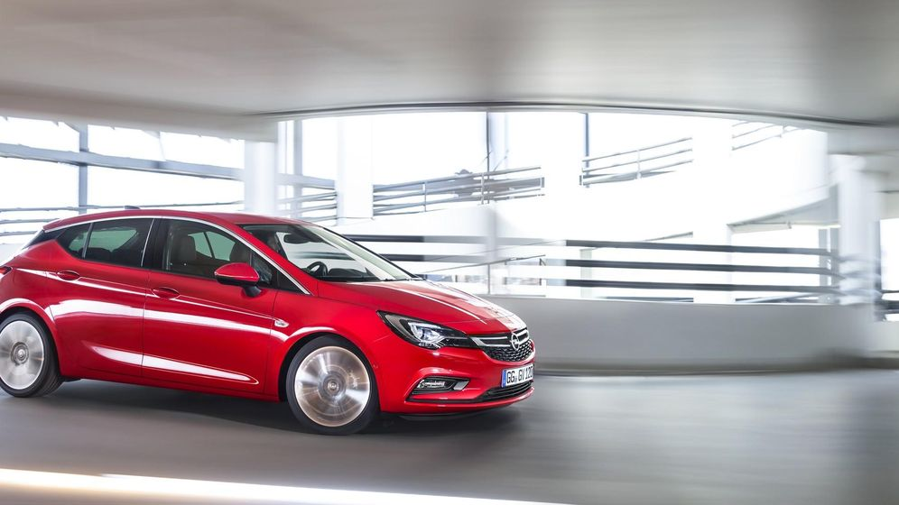 Foto: Nuevo Opel Astra, menos de 5 litros de consumo en gasolina