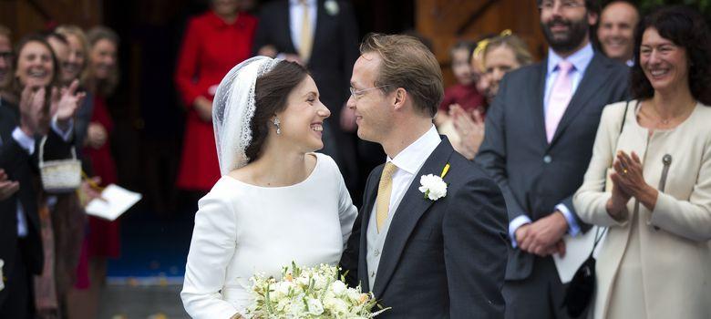 Foto: Gran boda de Jaime de Borbón-Parma y Viktória Cservenyák