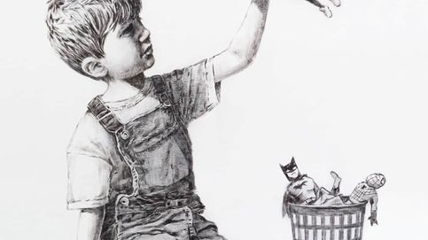 Banksy envía a un hospital de UK su particular homenaje a los sanitarios por el covid-19