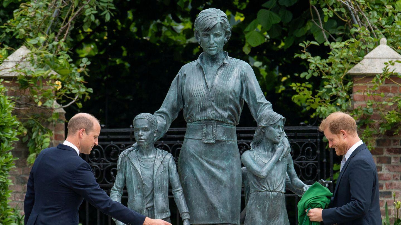 Estatua de Diana de Gales. (Reuters)