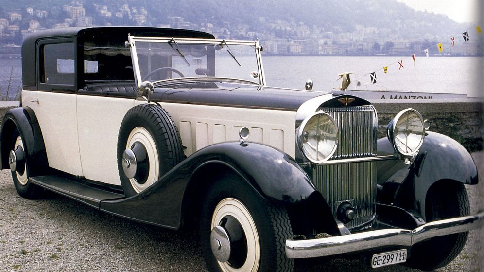 Foto: El modelo J12, uno de los más populares de Hispano-Suiza.