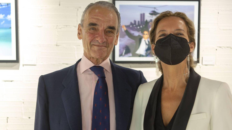 Mario Conde y Adriana Torres. (Foto: Beatriz Morandeira y Jose Luis Simón)