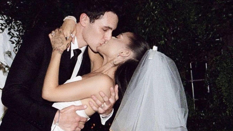 El vínculo entre los vestidos de novia de Meghan Markle y Ariana Grande