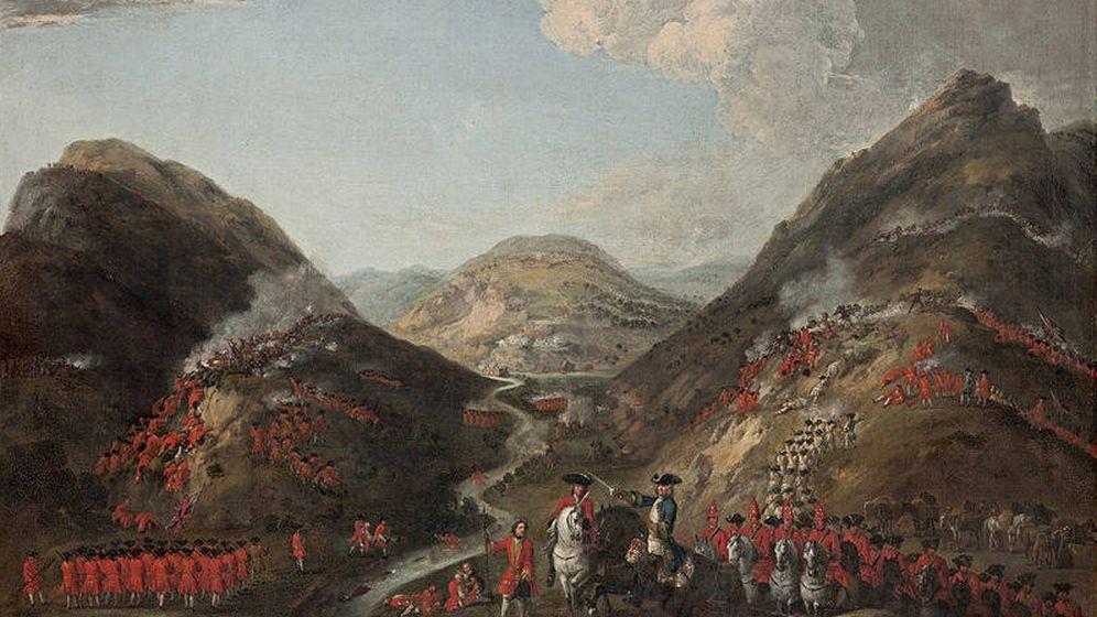 Foto: 'La batalla de Glenshiel', por Peter Tillemans.