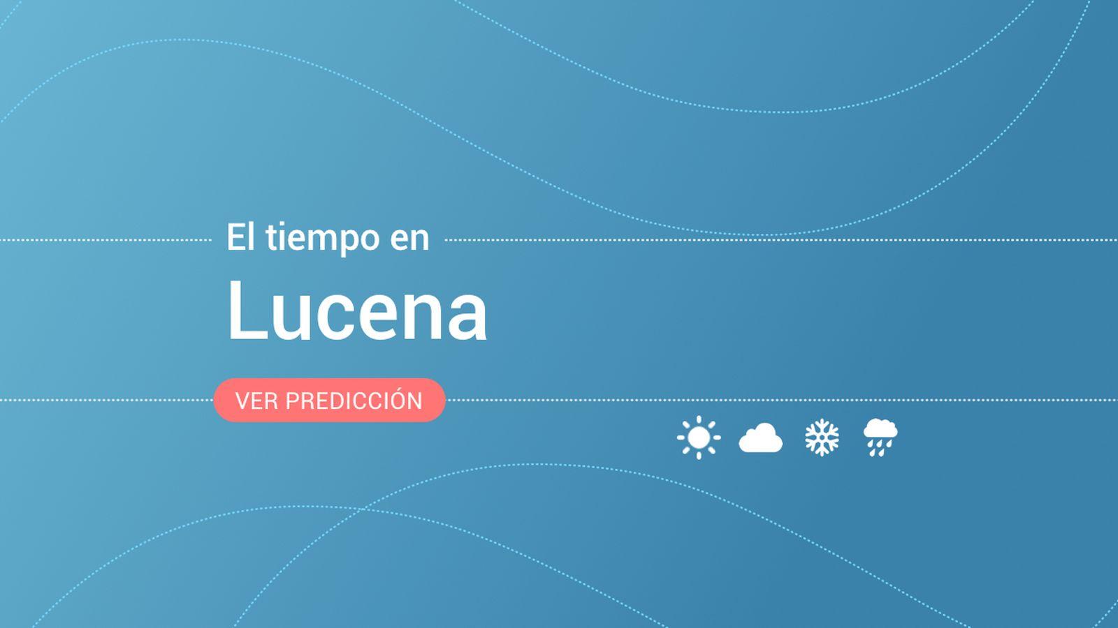 Foto: El tiempo en Lucena. (EC)