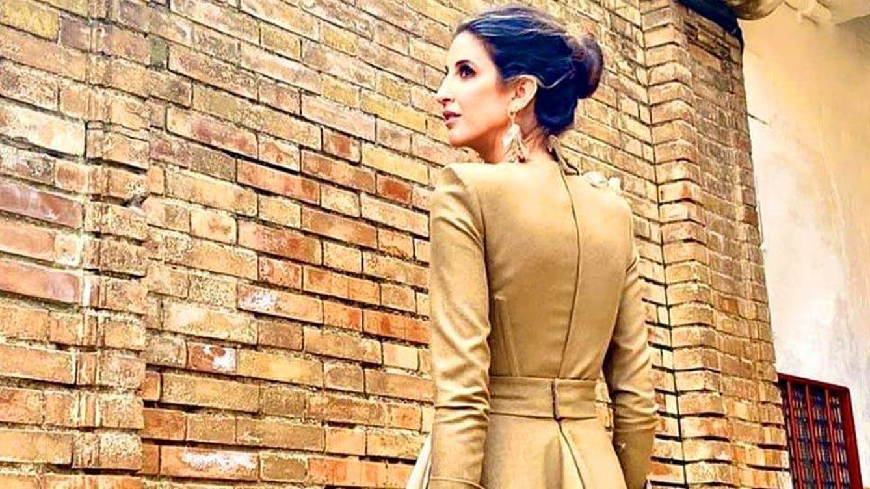Inés Domecq, boda en la Maestranza de Sevilla con lookazo de invitada