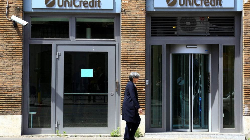Foto: Oficinas de Unicredit (Reuters)