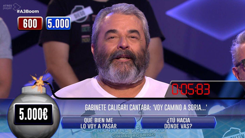 José Pinto en '¡Boom!'. (Atresmedia Televisión)