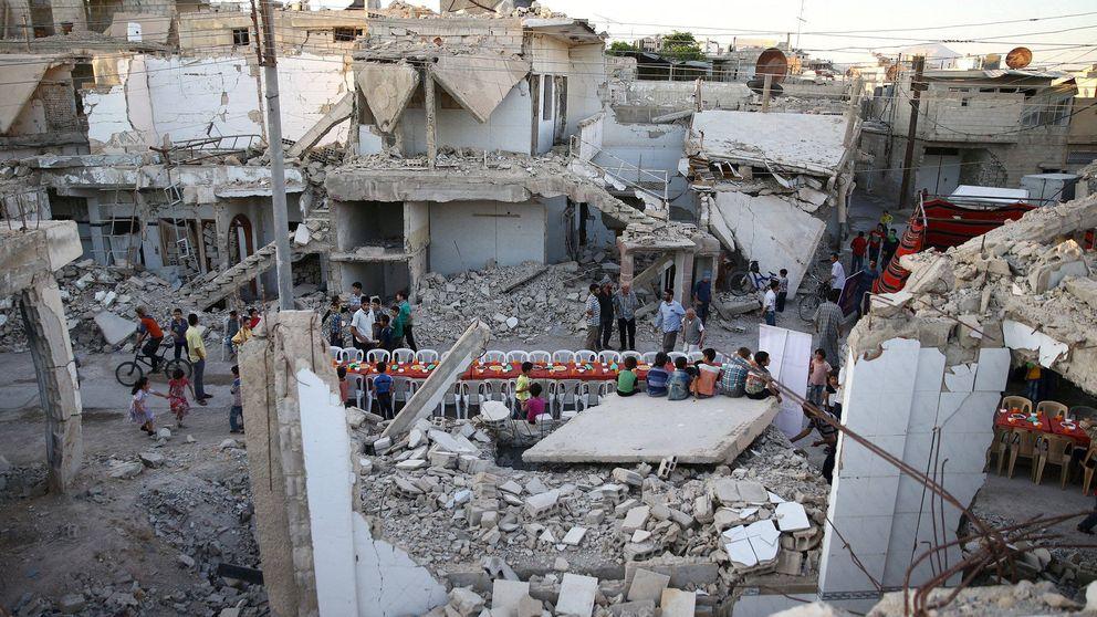 Fin del Ramadán en zona de guerra