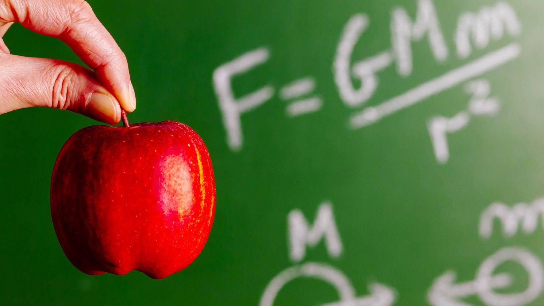 La ley de la Gravedad explicada con una manzana. (iStock)