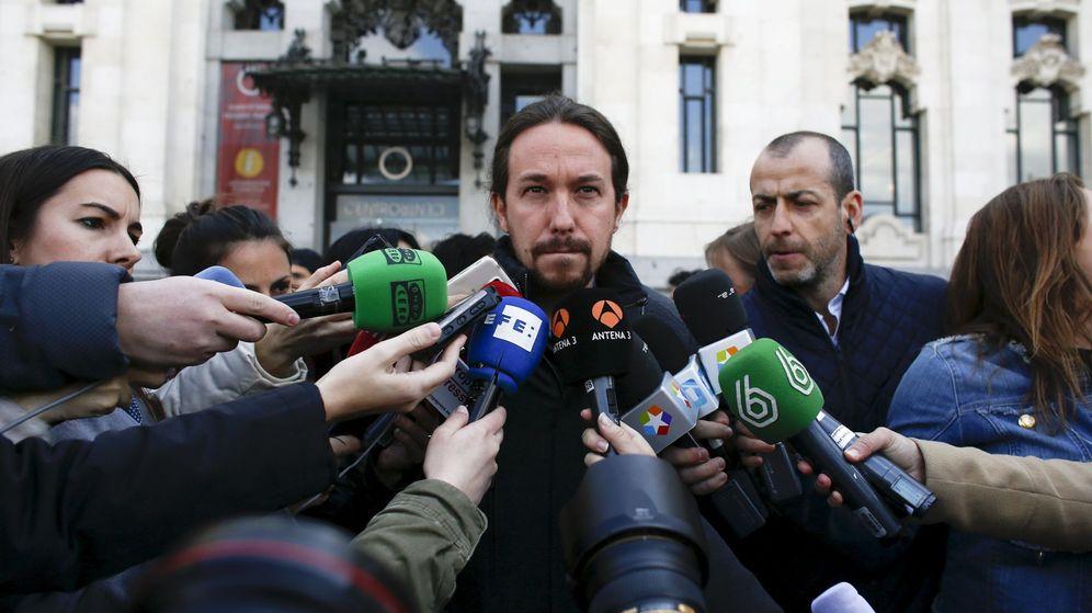 Foto: Pablo Iglesias, en Madrid, el pasado 22 de marzo. (Reuters)
