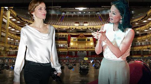 Cónclave de 'reinas' y vips en el Teatro Real