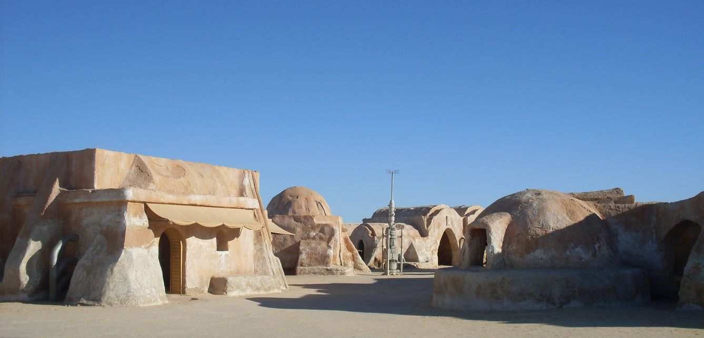 Foto: El Sáhara tunecino posee escenarios que parecen sacados de otro planeta, de otro tiempo