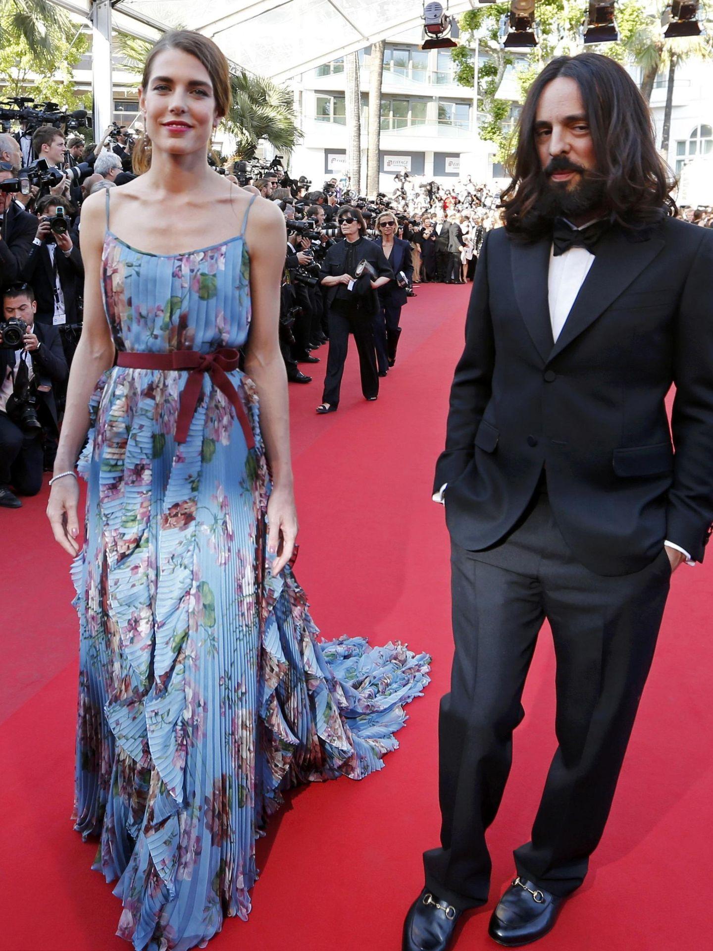 Carlota Casiraghi, en el festival de Cannes de 2015. (Reuters)