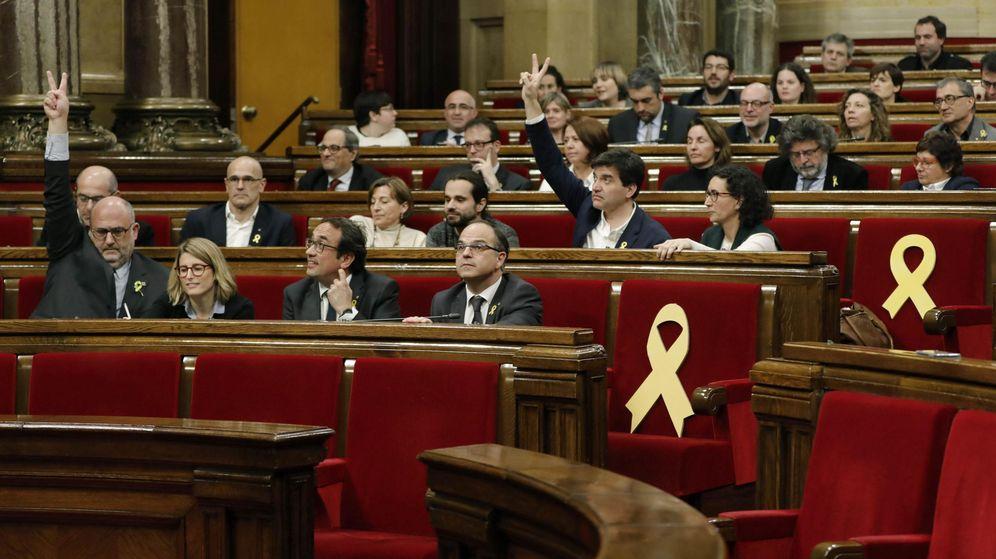 Foto: Pleno en el Parlament, (EFE)