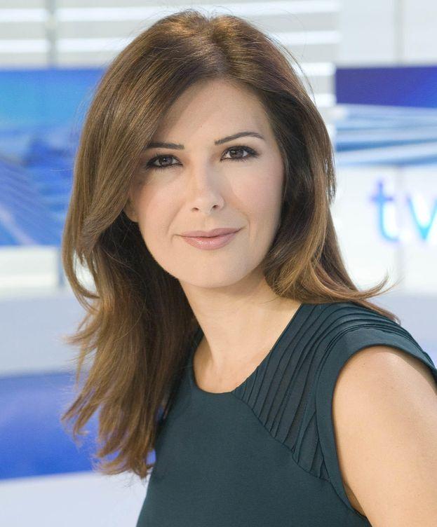 Foto: Lara Siscar, periodista de TVE (EC)