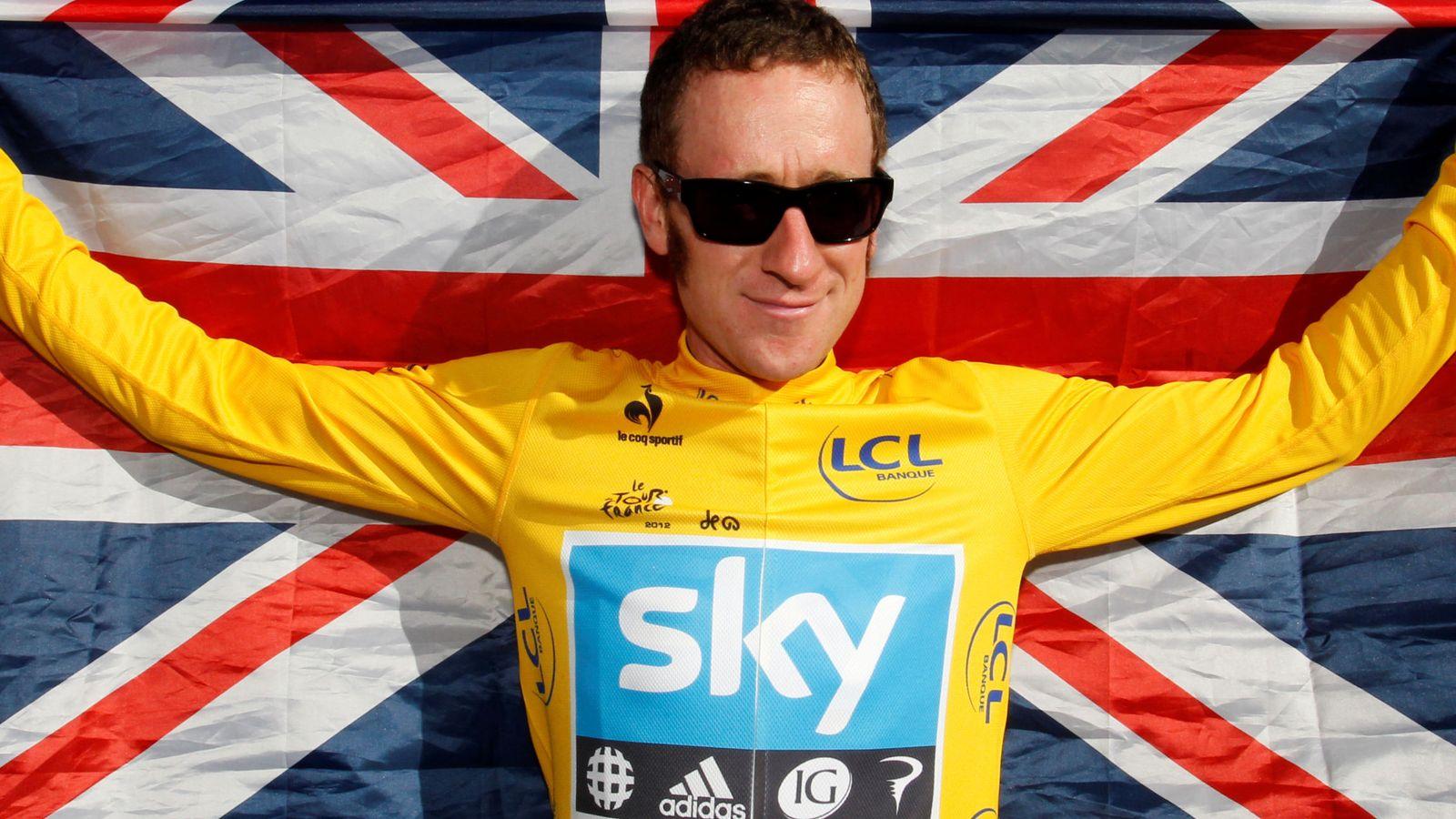 Foto: Wiggins, cuando fue campeónd el Tour. (Reuters)