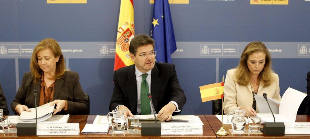 Foto: El secretario de Infraestructuras, Transporte y Vivienda, Rafael Catalá