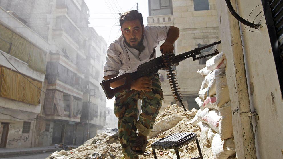 Cuatro gráficos que explican la llegada de armamento extranjero a Siria e Irak