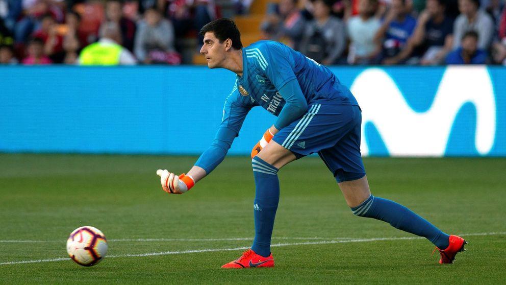 Courtois gana la batalla a Keylor Navas... ¿y Florentino a Zidane?