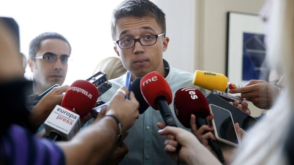Foto: El portavoz de Unidos Podemos, Íñigo Errejón. (EFE)