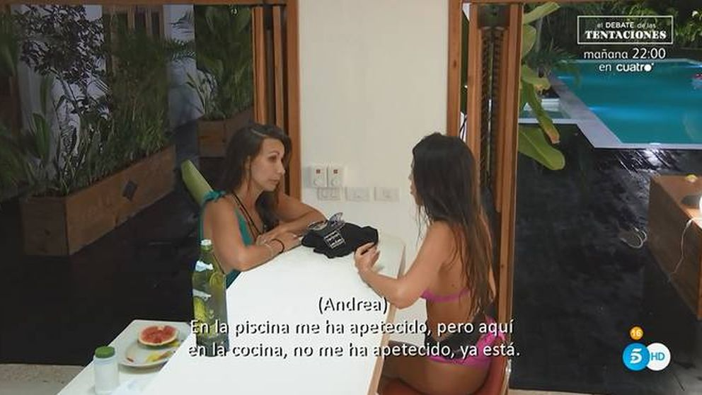 La puñalada de Andrea a Fani en 'La isla de las...': Eres una persona tóxica