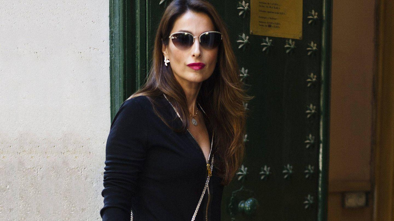 Paloma Cuevas se mantiene en un segundo plano. (Cordon Press)