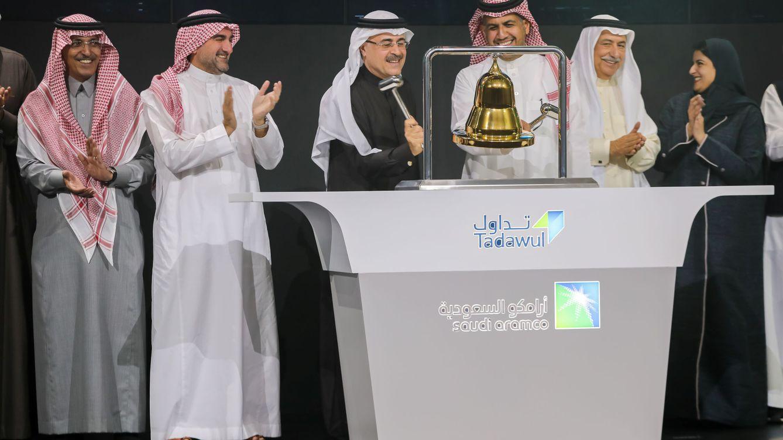 Aramco sube a 26.450 M el récord de su OPV tras ejecutar Goldman Sachs el 'green shoe'