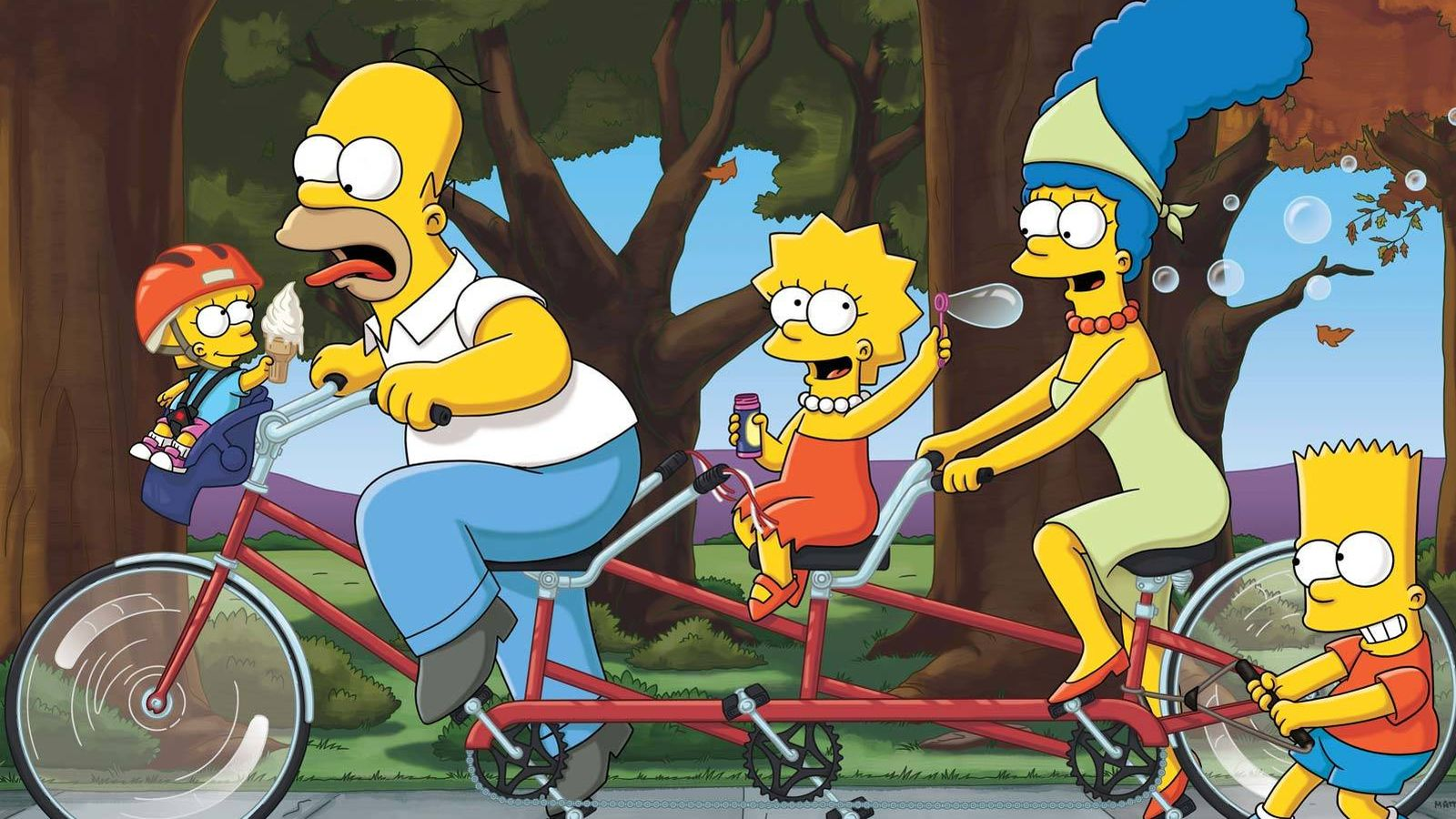 Foto: Imagen de la familia más famosa de Springfield, los Simpson.