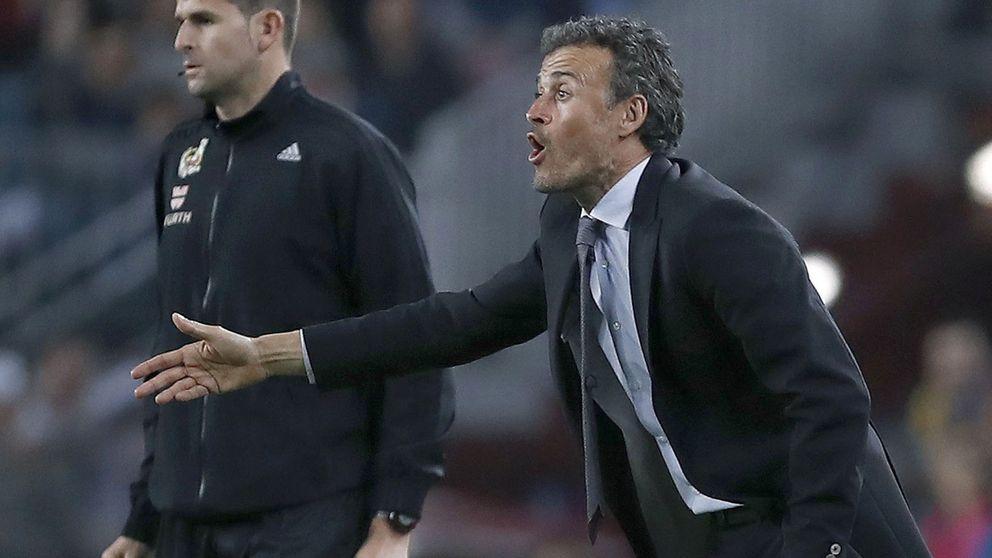 Luis Enrique vuelve a la vieja táctica del enemigo exterior de cara a la  Juventus