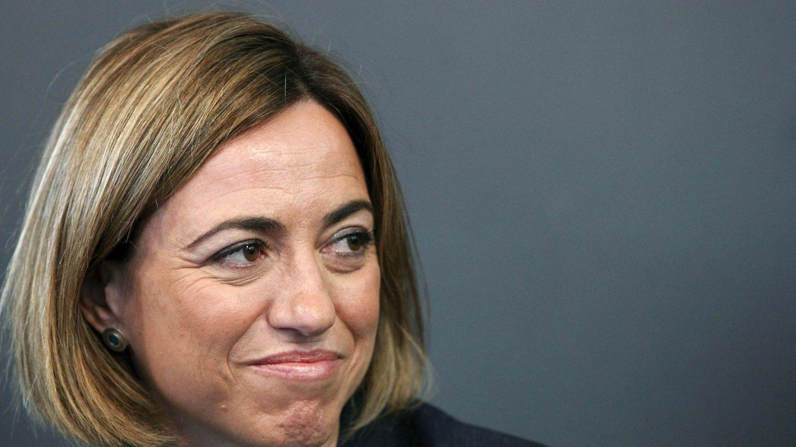 Foto: La exministra socialista de Defensa Carme Chacón. (EFE)