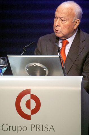 Foto: Juan Luis Cebrián y Felipe González, con el apoyo de Carlos Slim, quieren hacerse con el control de Prisa