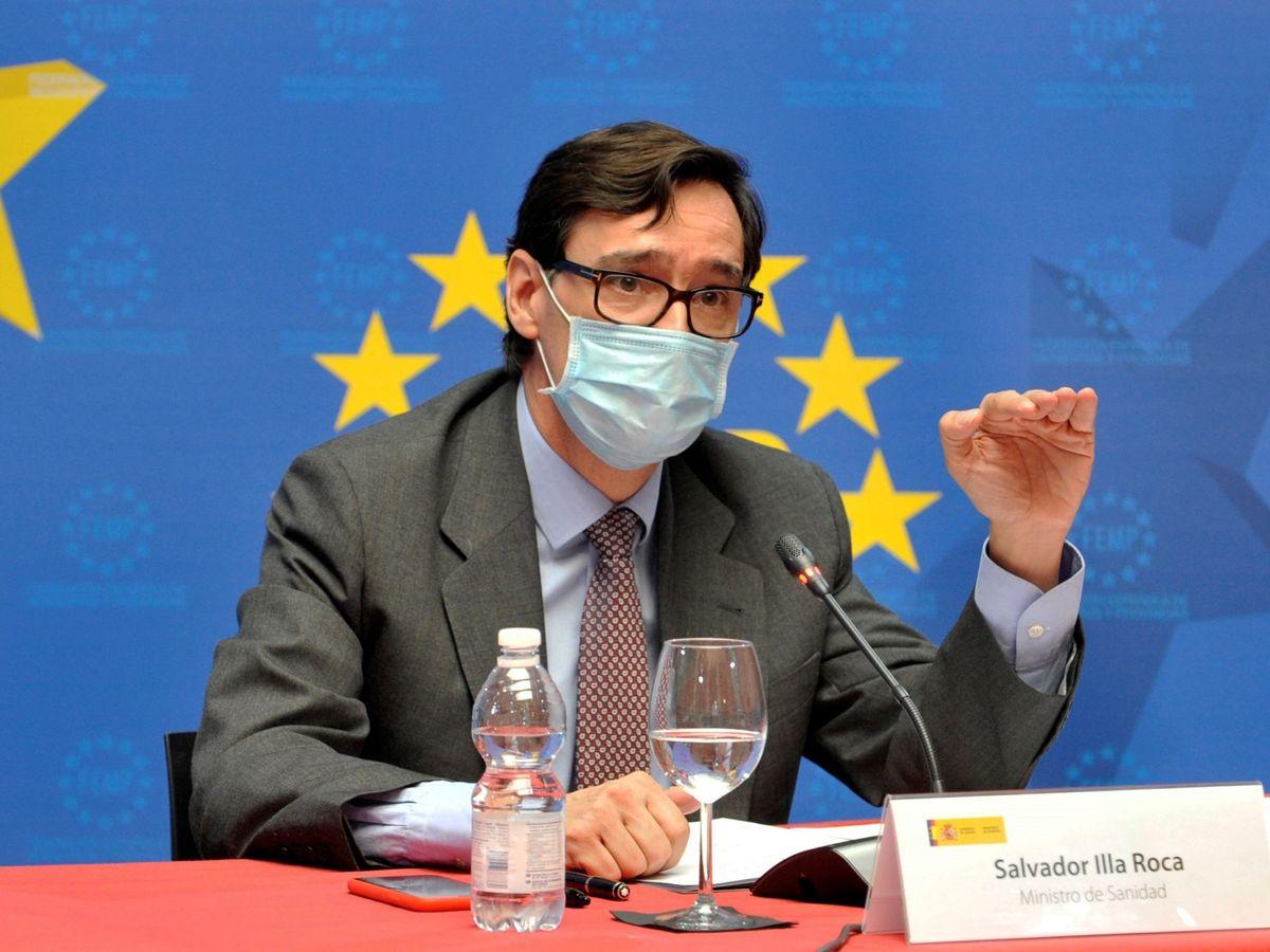 Foto: El ministro de Sanidad, Salvador Illa (EFE)