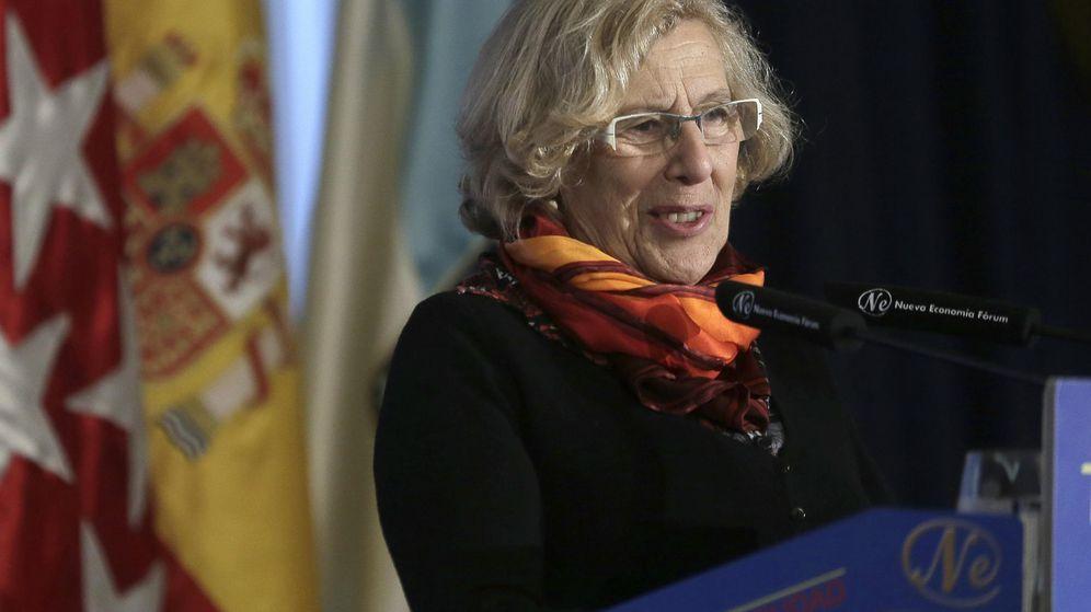 Foto: La alcaldesa de Madrid, Manuela Carmena